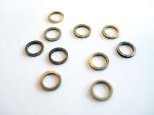 Axle Spacers - Brass - 1.0mm
