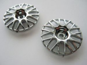 BBS Wheel Inserts - Chrome - 19mm OD